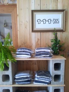3 fair trade organic t-shirts for $65.00
