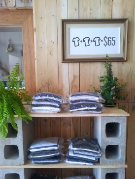 3 fair trade organic t-shirts for $65.00